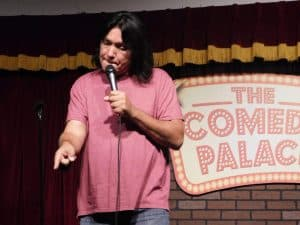 Marc Yaffee at the Comedy Palace