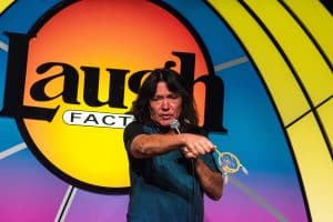 Marc Yaffee at the Laugh Factory