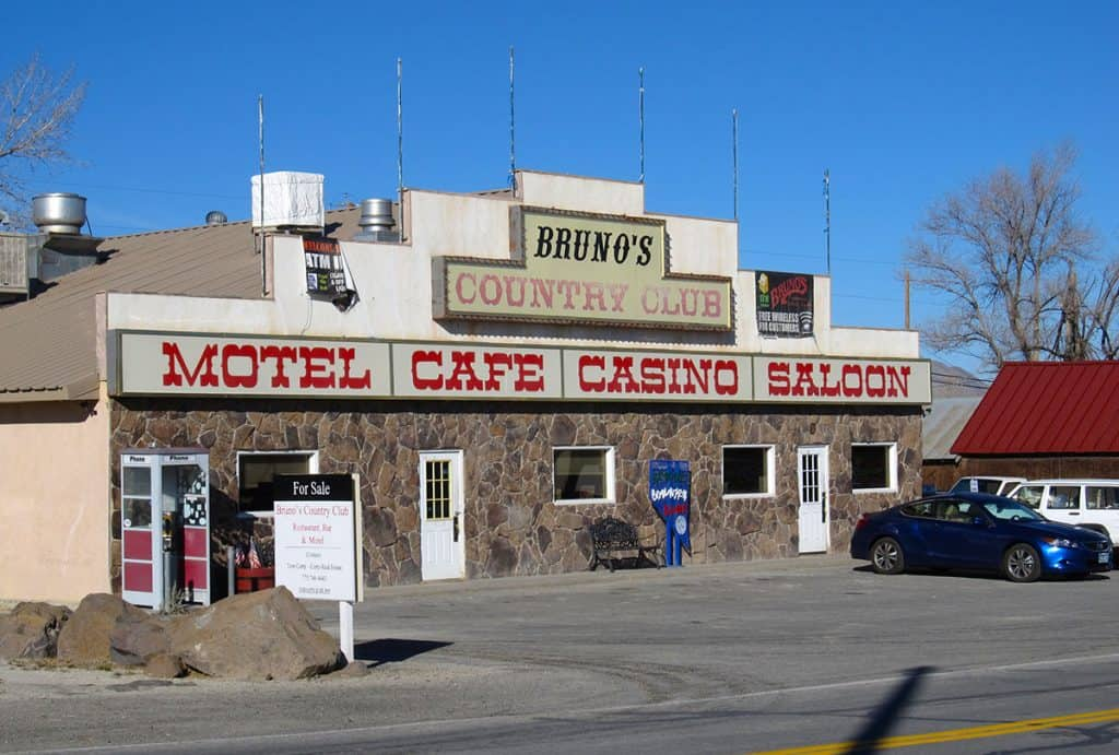 Bruno's in Gerlach, NV